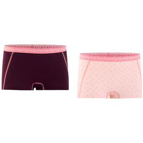 Kari Traa Bennvakker - Ropa interior Mujer - 2 Pieces rosa/rojo